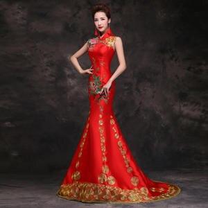 asiatische braute kleider auf off