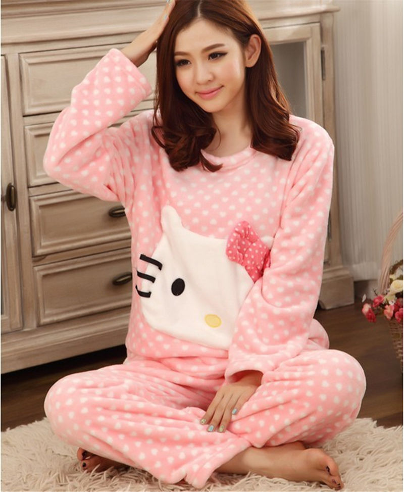 Popular Thick Flannel Pajamas-Buy Cheap Thick Flannel Pajamas lots ...