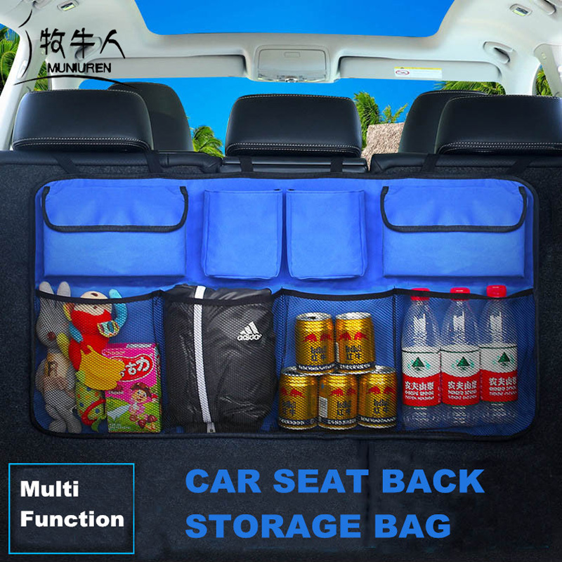 Oxford 600D font b Car b font Trunk Organizer Water Bottle font b Storage b font
