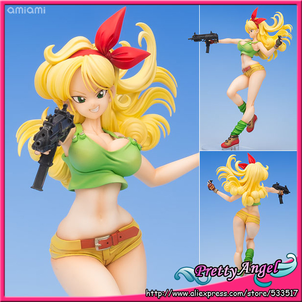 Brettyangel-authentique MegaHouse Dragon Ball Gals Dragon Ball Lunch blond Ver. Figure complète