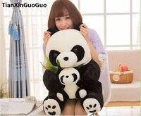 Stuffed animal cute Panda large 50cm plush toy bamboo panda mother and child Doll birthday gift b2639