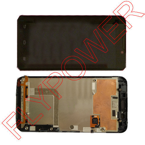 Подробнее о For ZTE Geek V975 LCD Screen Display with Touch Screen Digitizer + Frame assembly by free shipping; 100% warranty; Black for sony xperia v lt25 lt25i lcd screen display with touch screen digitizer full assembly by free shipping 100% warranty