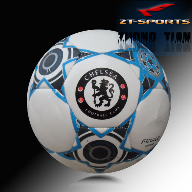 Free shipping  football size 5 Soccer ball  team Match ball free with carry bag and needles ship randomly color version