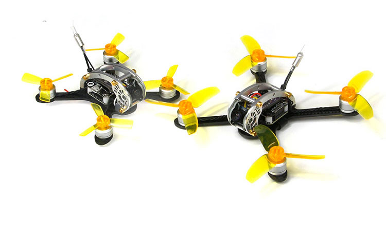 Fly Egg 100 130 PNP FPV Racing Mini Indoor Brushless Drone Quadcopter with DSM2 XM FS