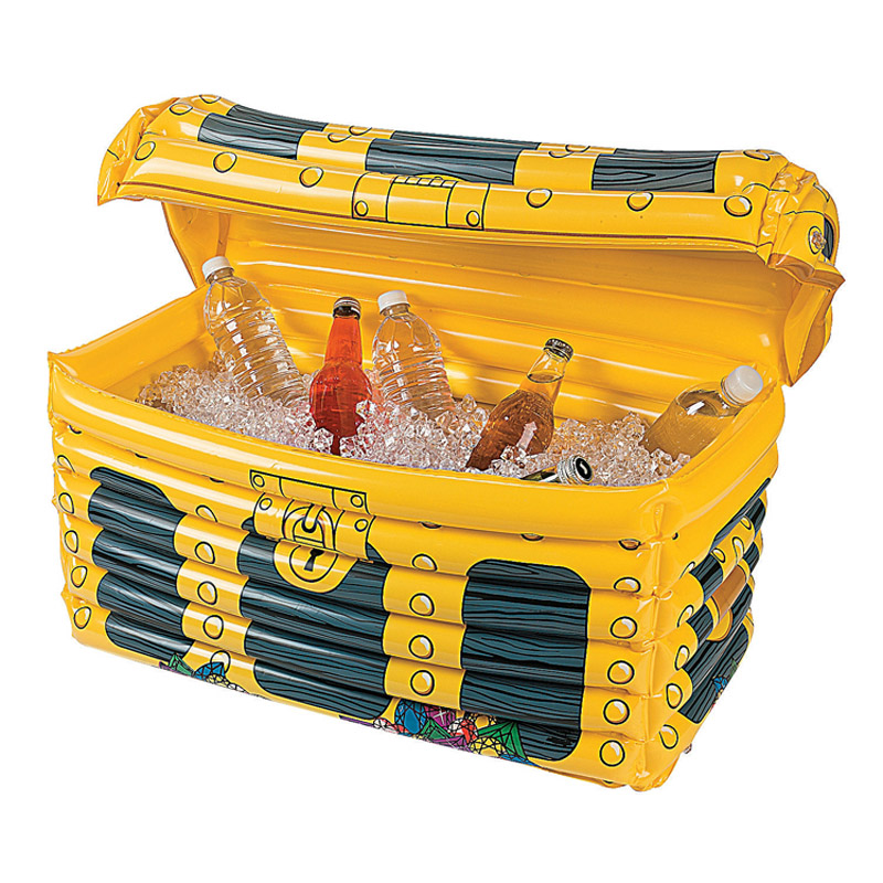 Toy Treasure Chest Beach : Cm inflatable treasure chest drinks cooler ice