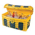 33*43*50cm Inflatable Treasure Chest Drinks Cooler Ice Bucket Toys Summer Beach Decorations Swimming Pool Party Favors Gifts