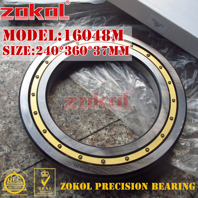 ZOKOL bearing 16048M Deep Groove ball bearing 240*360*37mm zokol bearing 6318 318 deep groove ball bearing 90 190 43mm