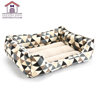 Beds For Large Dogs Pet House Soft PP Cotton Beds Breathable Lounger Bench For Dogs Kennels Bed For Pets Cat Dog Bed Sofa COO025