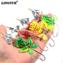 New Fishing Frog Lure Set 4 PCS/SET