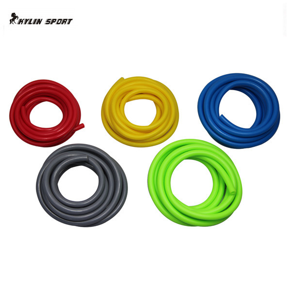 Qi multifuncional puxar corda engrossar overstretches elástico corda dispositivo de tensão chestexpander conjunto de treinamento