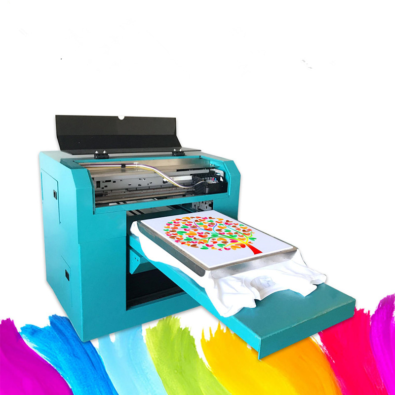 Digital T-shirt Printer Tabletop Design Fabric Printer Machine For Sale