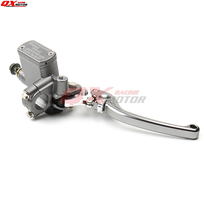 Image 2 - CNC Right Brake Lever Master Cylinder For125cc 150cc Dirt Bike ATV Scooter Pocket Bike Supermoto Off Road motorcycle-in Levers, Ropes & Cables from Automobiles & Motorcycles on AliExpress