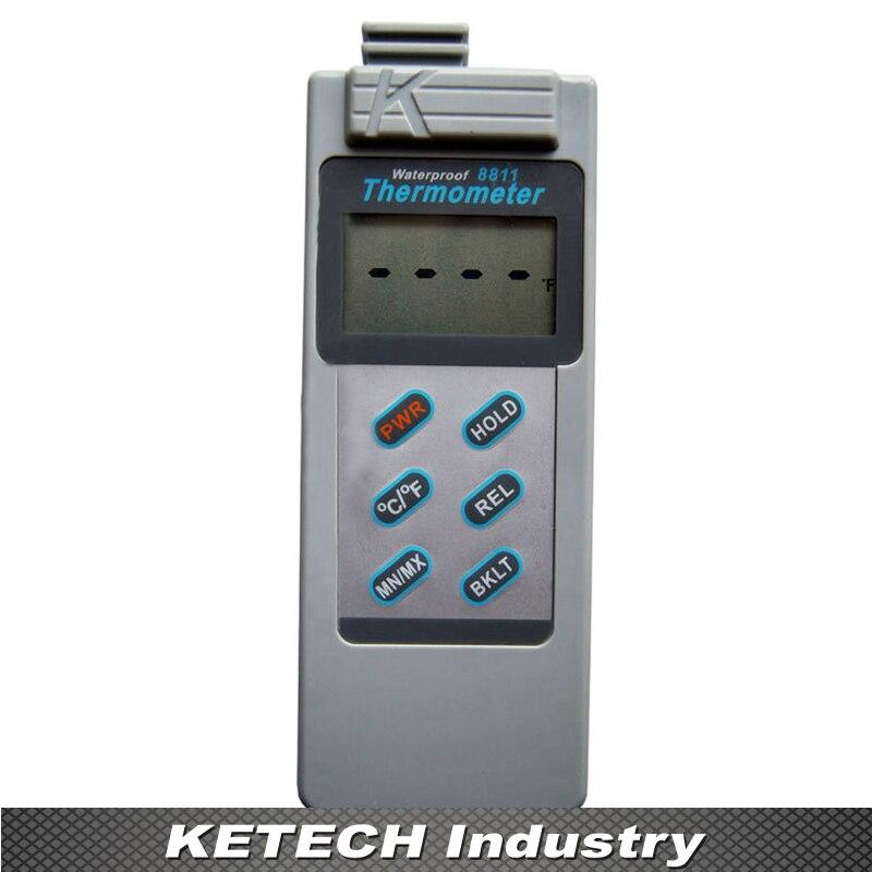 AZ-8811 Digital Waterproof  Thermometer DataLogger az 8811 waterproof k type thermocouple thermometer with measuring range 200 1300c