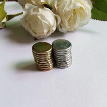 10 шт. скрытые металлические магнитные кнопки Магнитная застежка для сумки застежка кнопка для DIY пальто мешок одежды скрапбук