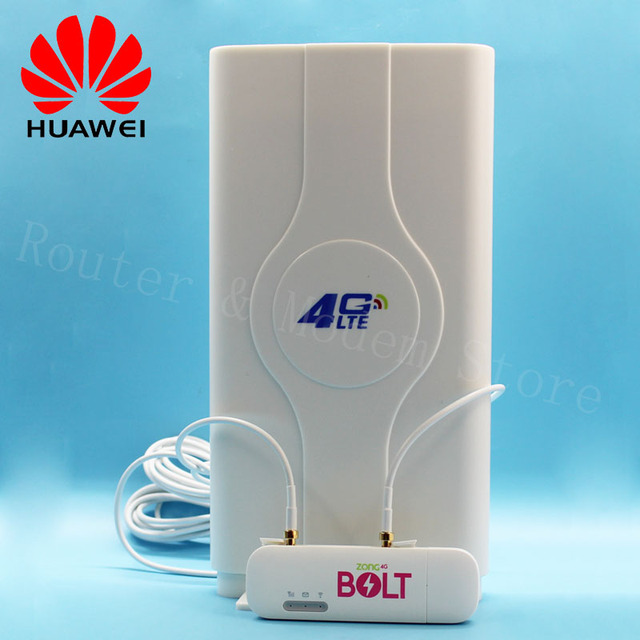 Unlocked Huawei E8372 E8372h 153 4G Wireless Router With Antenna 150M LTE  USB Wingle WiFi Modem Dongle Car Wifi