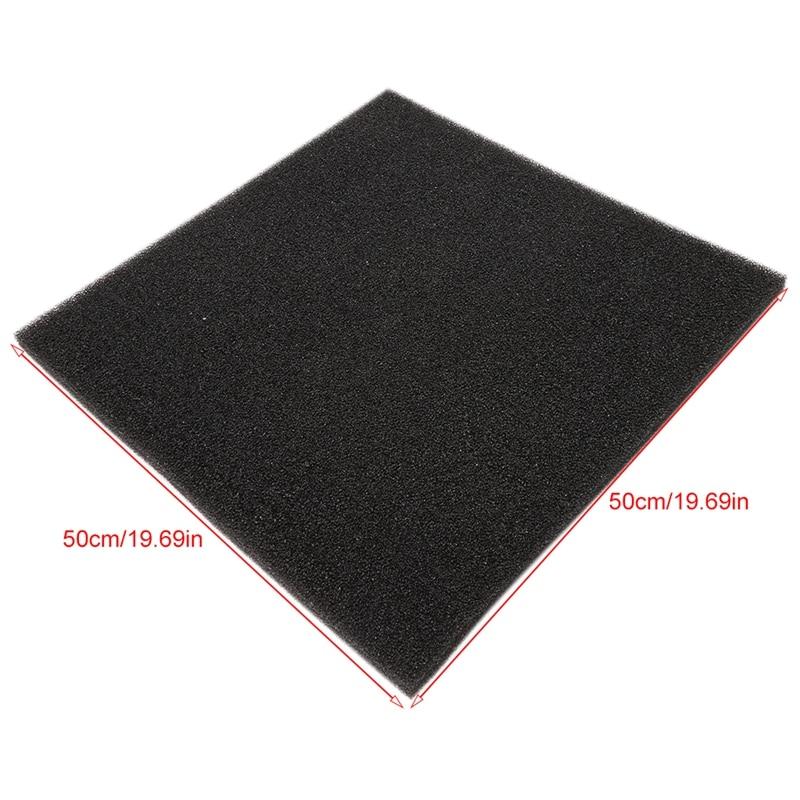 Купить с кэшбэком Aquarium Filter Foam Biochemical Block Sponge Foam Pads Durable Custom Cut for aquarium