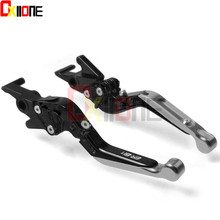 Motorcycle Accessories CNC ALUMMINUM Adjustable Folding Extendable Brake Clutch Levers ER-6N For Kawasaki ER-6N ER6N ER 6N 2017 candy fpe502 6n