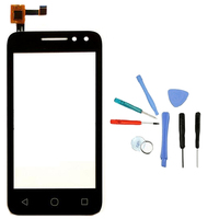 LINGWUZHE Touch Screen Digitizer Glass Panel Replacement And Repair Tools For Alcatel One Touch Pixi 4