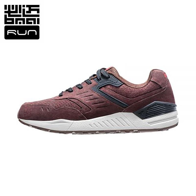 Man sneakers 2016 Genuine leather Retro Running Shoes 3M Authentication Waterproof Men s Sneaker Krasovki Size