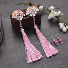 vintage hair flower for women chinese ancient dynasty accessories clip princess cosplay