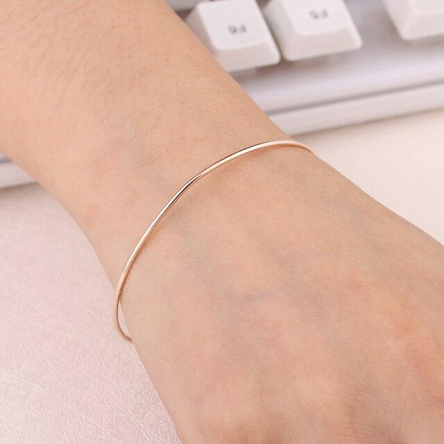 Adjustable Metal Cuff Bangle Bracelet   5