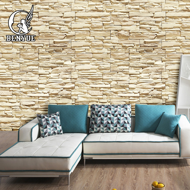 Modern Brick 3D Wallpaper 3D Brick Mural Wall paper custom size wall papers home decor papel de parede 3d para sala wallcoverin