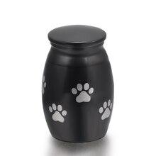 Black Paw Memorial Urn