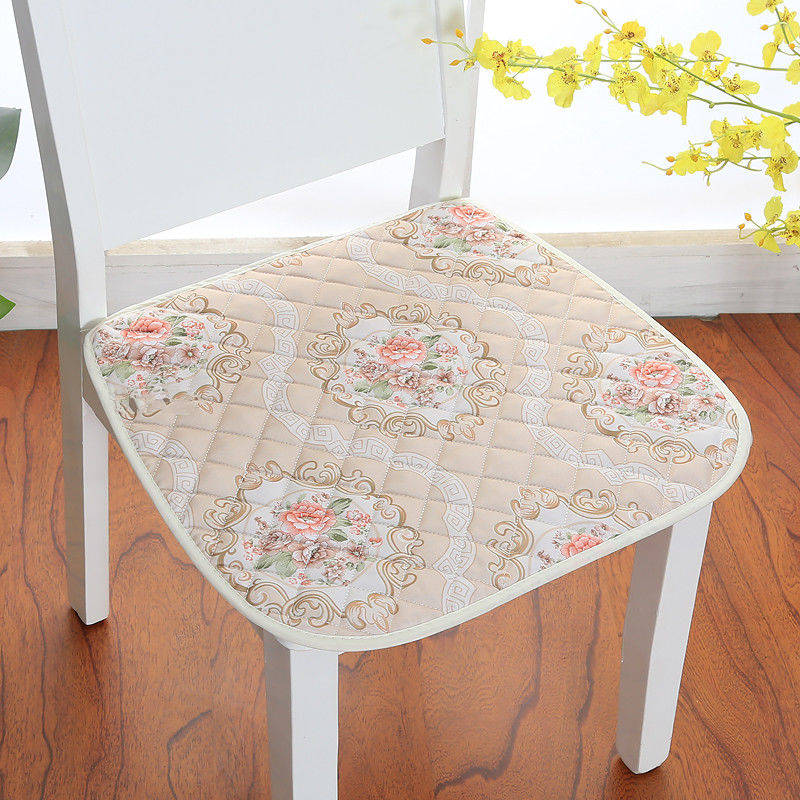 Dining Chair Cushion 12 Colors Flower Style Seat Cushion Pastoral Mat Office Computer Home Cussion Four Seasons Soft Seat Pad