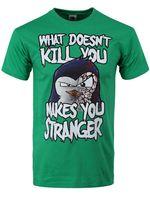 Psiko Penguen Öldür yapmaz Neler Size Yapar Stranger erkek Yeşil T-shirt