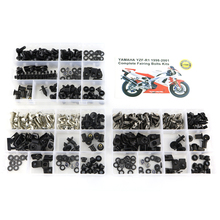 For Yamaha R1 YZF-R1 1998 1999 2000 2001 Motorcycle Complete Full Fairing Bolts Kit Clips Screws OEM Steel for yamaha yzfr1 yzf r1 yzf r1 2004 2005 2006 full fairing bolts kit fairing clips nuts bodywork screws stainless steel