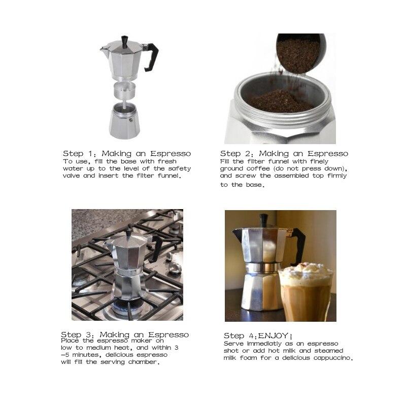 Aluminum Stovetop Espresso Maker Italian Moka Pot Cafetera Cuban Coffee Machine In Pots From Home Garden On Aliexpress Alibaba Group
