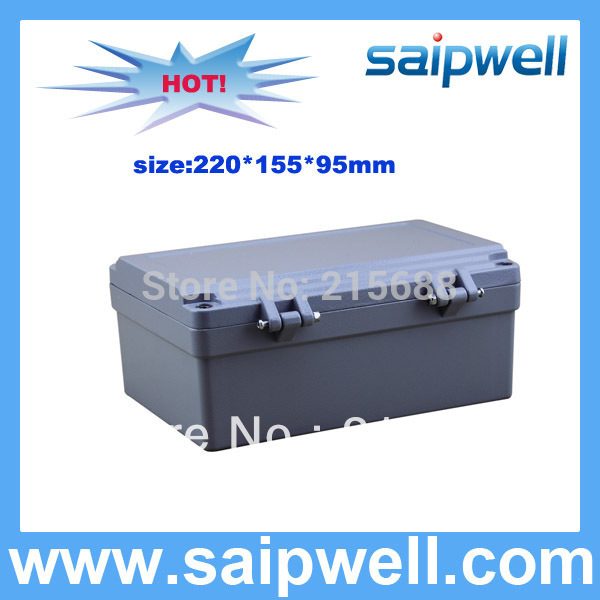 220*155*95mm  Waterproof Aluminum Box IP67  For Home Use SP-AG-FA14220*155*95mm  Waterproof Aluminum Box IP67  For Home Use SP-AG-FA14