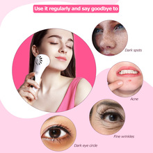 High quality MKS Electric Women Facial Massager Multifunctional Cooling Heating Deep Cleansing Skin Care Tool Beauty Instrument