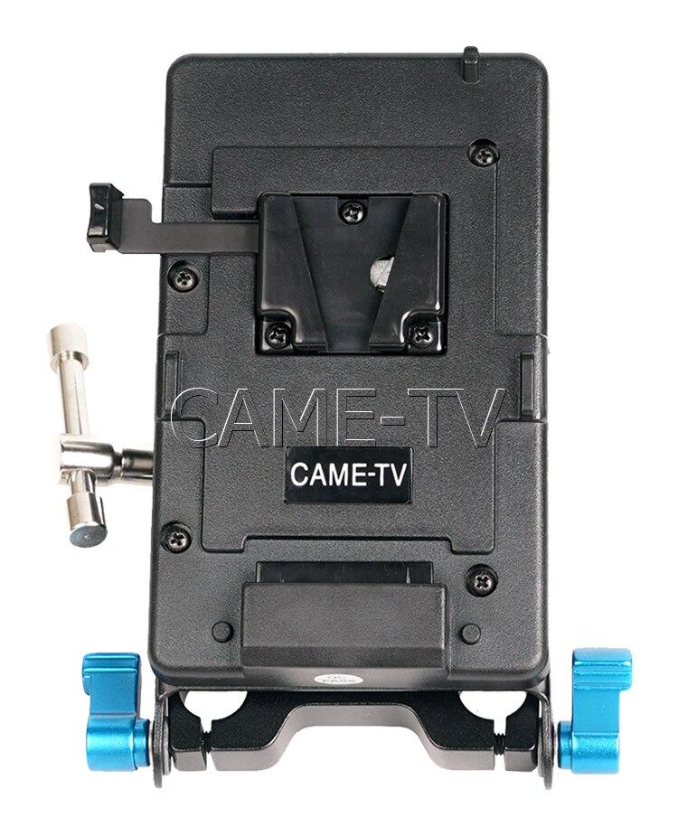 bilder für CAME-TV V-Montageplatte Mit Clamp