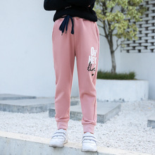 Kids Boys Girls Casual Polar Fleece Solid Pants Trousers for Spring Autumn Unisex Children Sport trousers For 4-16Y