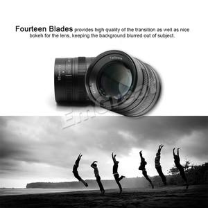 Image 5 - 7artisans 55mm F1.4 objectif Portrait à grande ouverture pour Sony E Mount pour Fuji M4/3 Mount EOS M A6300 A6500 X A1 G5 M5