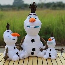 Дисней, мягкие плюшевые игрушки, Холодное сердце, 20 см, 30 см, 50 см, Олаф, плюшевые кавайные снеговики, Мультяшные плюшевые игрушки, куклы, Brinquedos Juguetes