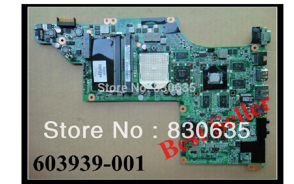 603939-001 laptop motherboard DV6-3000 A 7% off Sales promotion, FULL TESTED