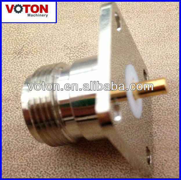 free shipping N Female  flange 4hole connector