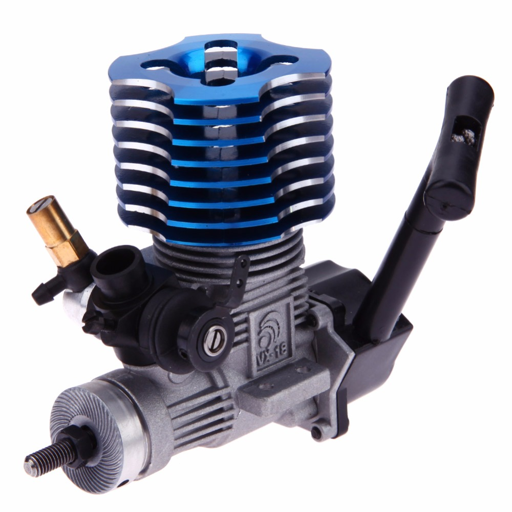 Engine High Quality RC Car Part Blue for HSP 02060 RC 1/10 1/8 On-Road Car Buggy Truck Original Part hsp bajer 5b 1 5th 2wd rtr 26cc engine gasoline off road buggy 94054