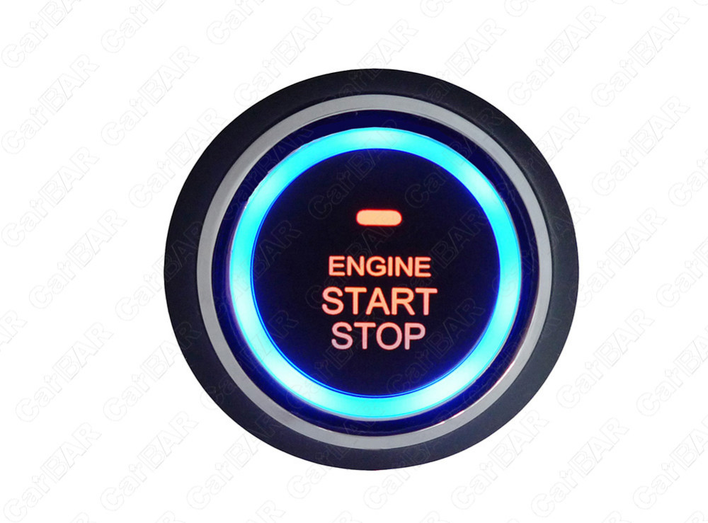 car engine push start button for bmw rfid id card immobilizer one Keyless Push Start Button one start stop button