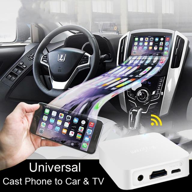 Mira экран автомобильный беспроводной WiFi Дисплей Anycast экран зеркалирование hdmi AV Стик видео адаптер приемник ключ для ios android к ТВ