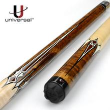 New Arrival Universal Sculpture Pool Cue Stick Kit Billiard 12.75mm Tip UN111-6 Black 8 Handmade Durable For Users China 2019