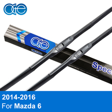 "Oge 24""+18"" Wiper Blades For Mazda 6 2014 2015 2016 Windshield Natural Rubber Car Accessories"