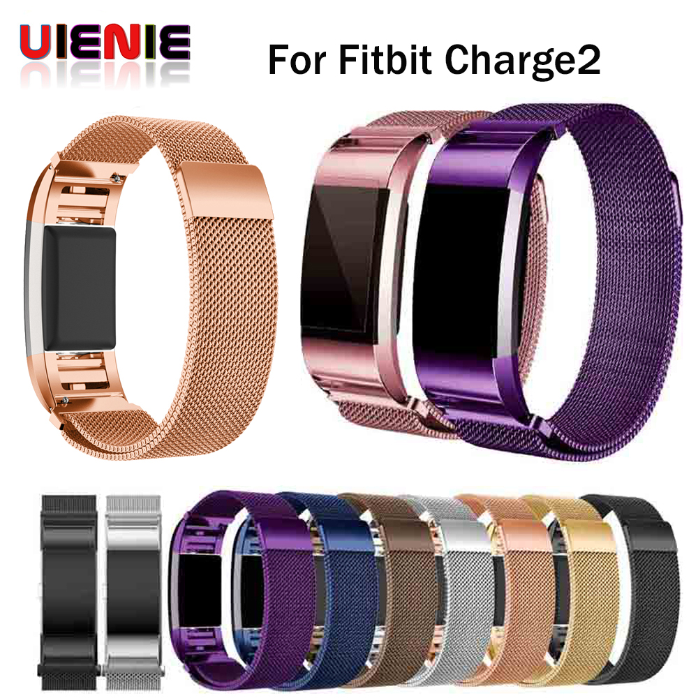 Scomas Stainless Steel Milanese Bands for Fitbit Charge 2 Magnetic Replacement Wristband Strap for Charge 2 Watch Accessories 2018new magnetic milanese stainless steel bracelet replacement bands for fitbit charge 2 strap for fitbit charge 2 band 4 colors
