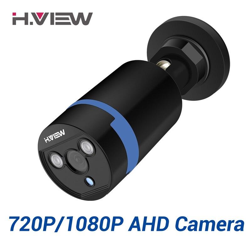 H. 2.0mp 1080 P Full HD Câmeras de Vigilância VISÃO Forte Infravermelho HD 720 P Câmera de Segurança CCTV Câmera de Vídeo Câmeras