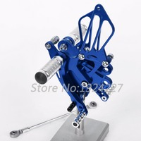 For Yamaha YZF R125 R 125 YZF R125 2008 2013 CNC Motorcycle Foot Pegs Rearsets Rear Sets Brake Shift 8 Color 2012 2011 2010 2009