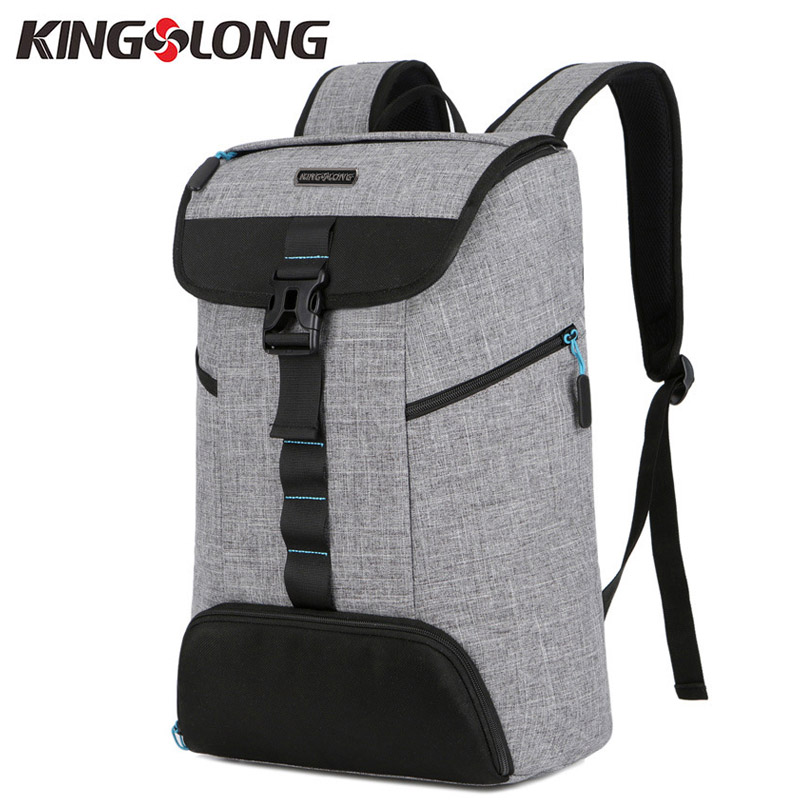 KINGSLONG Men Backpacks Bags for Shoes Waterproof 10-15.6 Inch Laptop Backpack Notebooks Men's Backpack Female mochilas #53