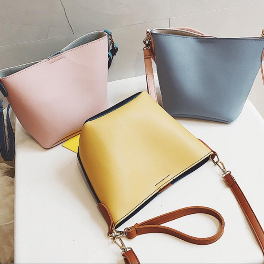 Molave Shoulder Bag new high quality Leather Bucket Strap Handbag Large Capacity Crossbody shoulder bag women MAR8