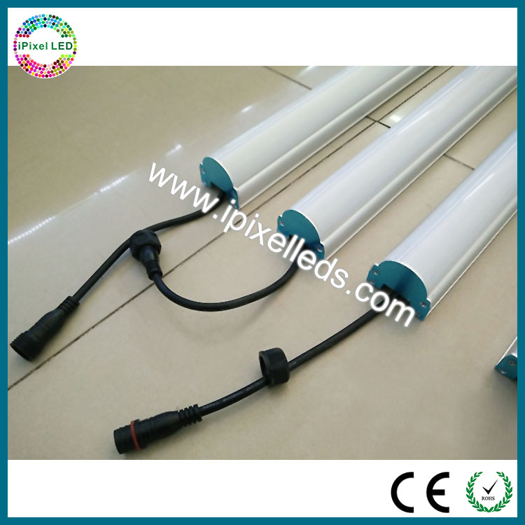 2m WS2812B address with milky cover led tube light for stage ,ceiling or wall free shipping new arrival 35pcs pack 2m pcs led aluminum profile for led strips with milky or transparent cover and accessories
